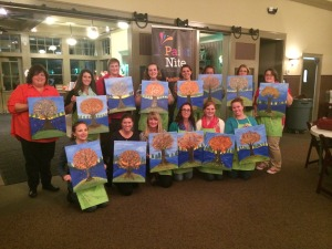 Uncorked Canvas @ Harvest Ridge Winery | Marydel | Delaware | United States
