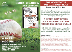 """TAKE ME OUT TO THE BALL GAME"" Happy Hour 