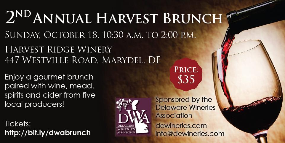 Celebrate Harvest Time at our Brunch!